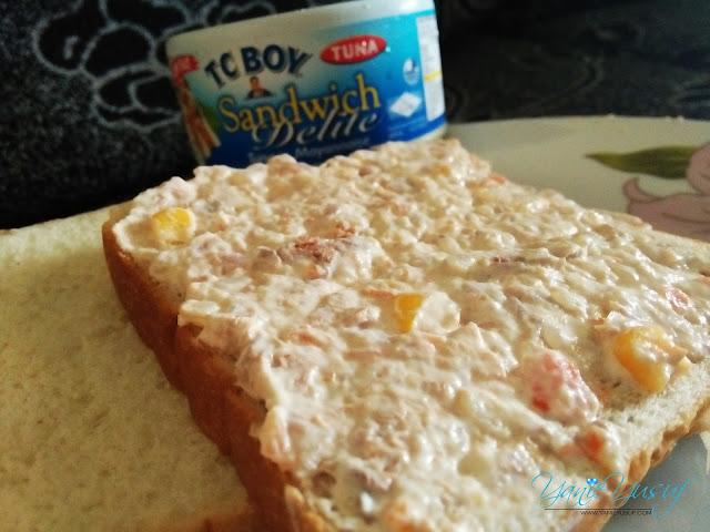 TC BOY Tuna sandwich delite
