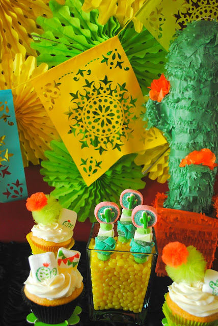 Bright fiesta desserts await in this party created by Fizzy Party