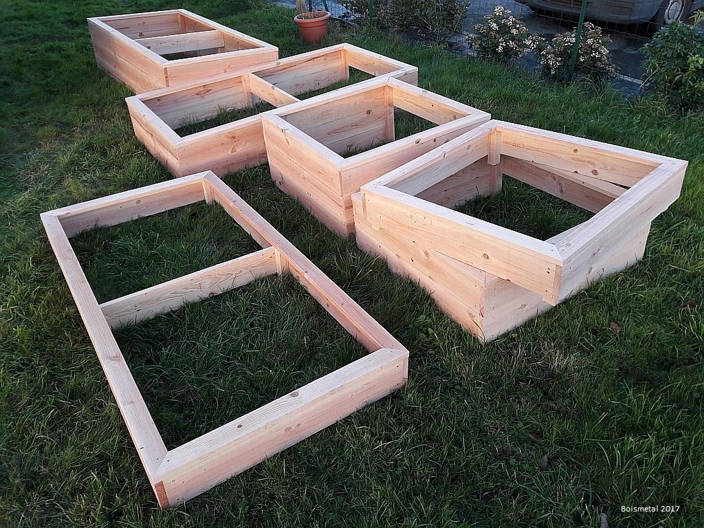 Potager En Carré Fabrication boismetal fpbm: fabrication de carré potager bois