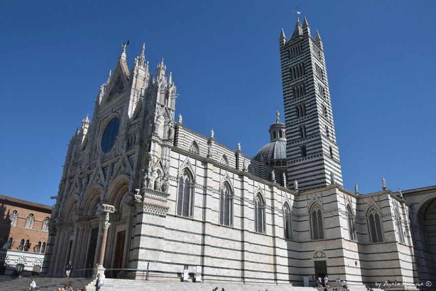 majówka, majówka we Włoszech, Toskania, Siena, Palio, katedra w Sienie
