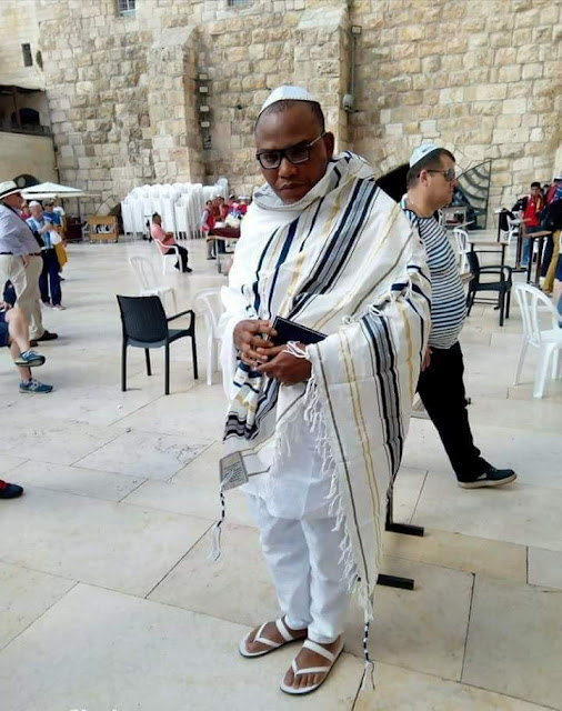 BREAKING: Nnamdi Kanu makes first appearance after soldiers' invasion [Watch Video]