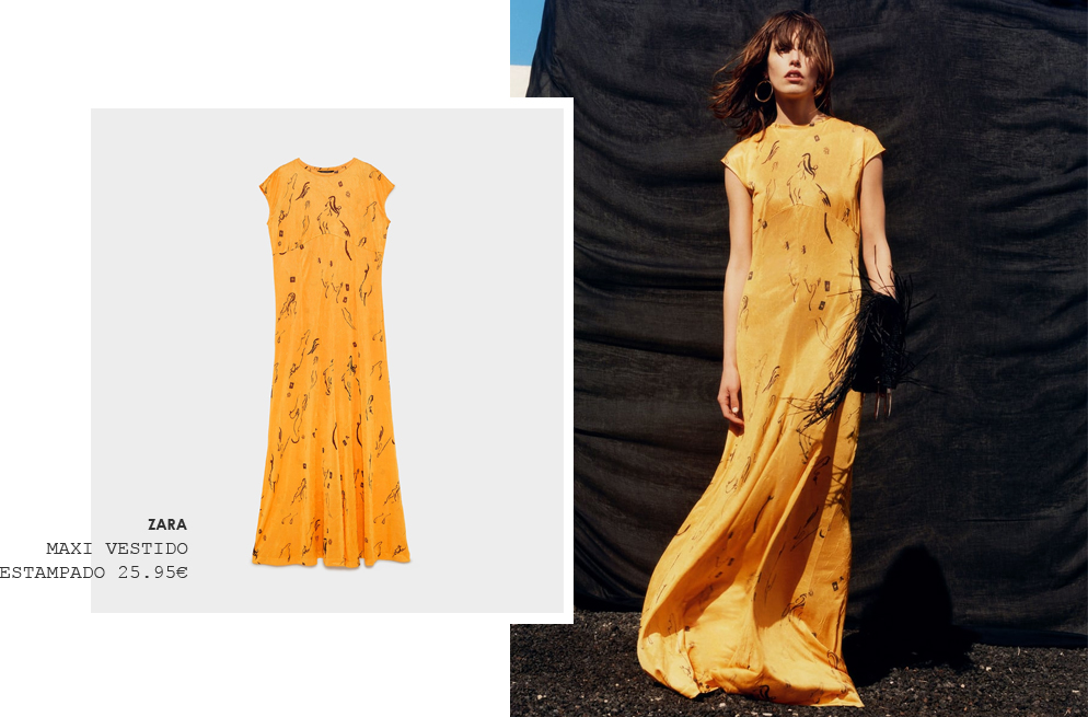 Zara tiene el 'maxi vestido' perfecto para la próxima temporada