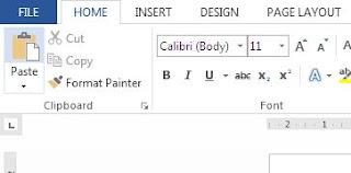 Cara Merubah Inchi ke Cm pada Microsoft Word