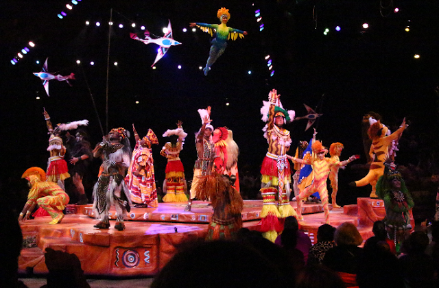 Festival of the Lion King no Animal Kingdom em Orlando