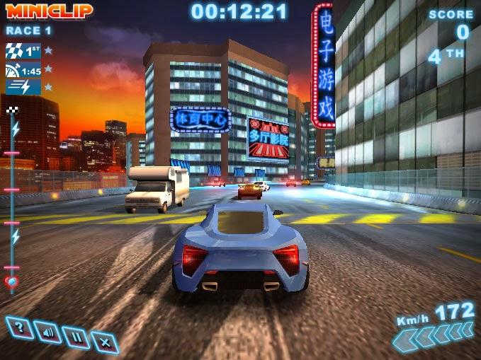Play Turbo Racing 3 Shangai Online 3d Games