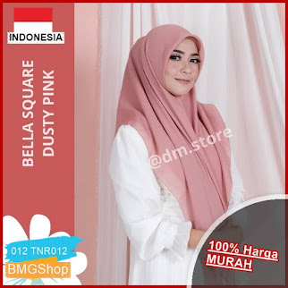TNR012 Bella Square Hijab Jilbab Segi BMGShop