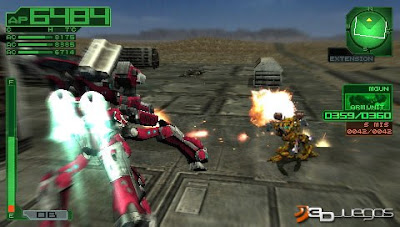 armored core 3 Portable psp iso