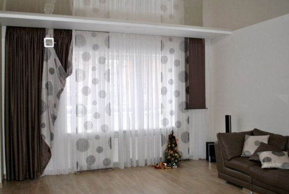33 modern curtain designs latest trends in window coverings for Living room curtain ideas