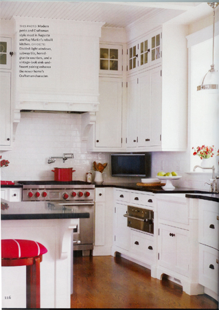 white kitchen cabinets red accents eclectic kitchen inspiration 1920 s style 28903