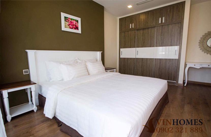 Cho thuê Penthouse 4 phòng ngủ tại tòa nhà Park 2 Vinhomes Bình Thạnh - không gian phòng ngủ 1