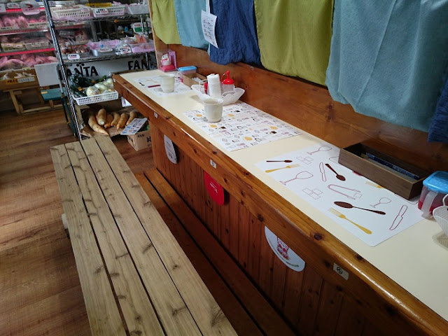 お肉の店仲村の店内の写真