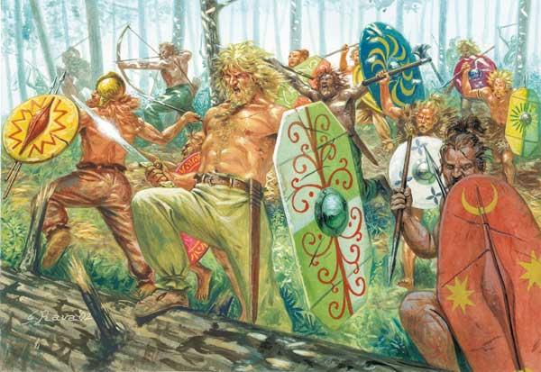 Cimbri Germanic People