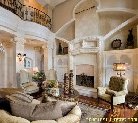 Decoraci n minimalista y contempor nea casas elegantes por dentro - Salones de lujo ...