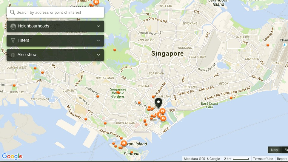 Alive Museum Singapore Map Tourist Attractions in Singapore – Singapore Tourist Attractions Map