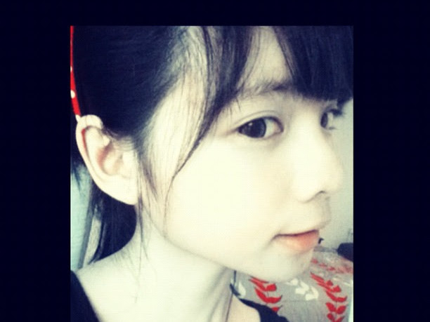 Asian Girly Feeling in Love