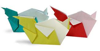 Cách gấp, xếp miếng đặt đũa hình con vịt bằng giấy origami - Video hướng dẫn