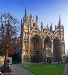 2. Peterborough Cathedral, England