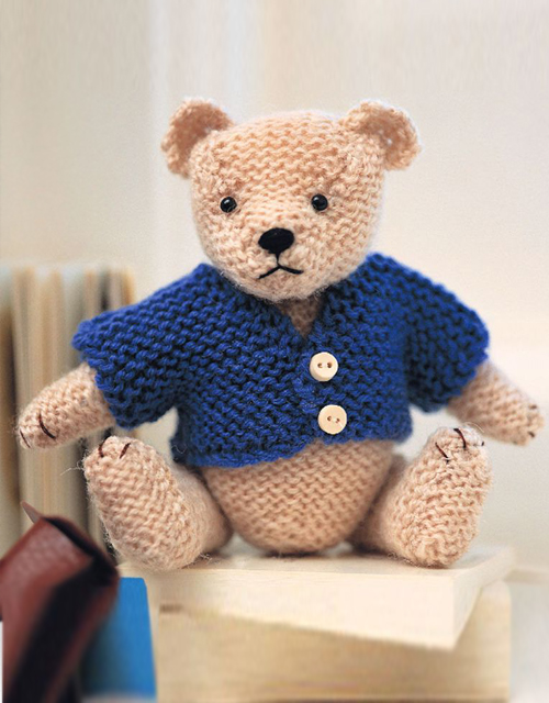 Cute Teddy Bear - Free Pattern