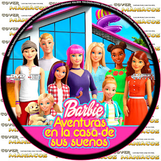 GALLETA BARBIE: AVENTURAS EN LA CASA DE SUS SUEÑOS - BARBIE: DEAMHOUSE ADVENTURES - 2018