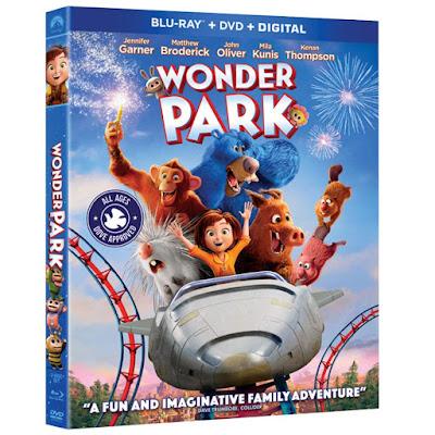 Wonder Park 2019 Blu Ray