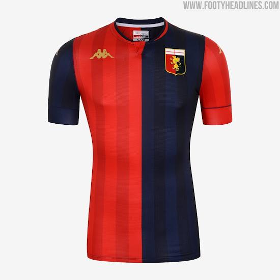 Genoa 20-21 Home & Away Kits Released - Footy Headlines