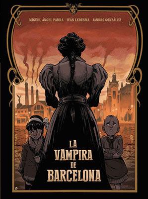 La vampira de Barcelona, Enriqueta Martí, adaptación al cómic