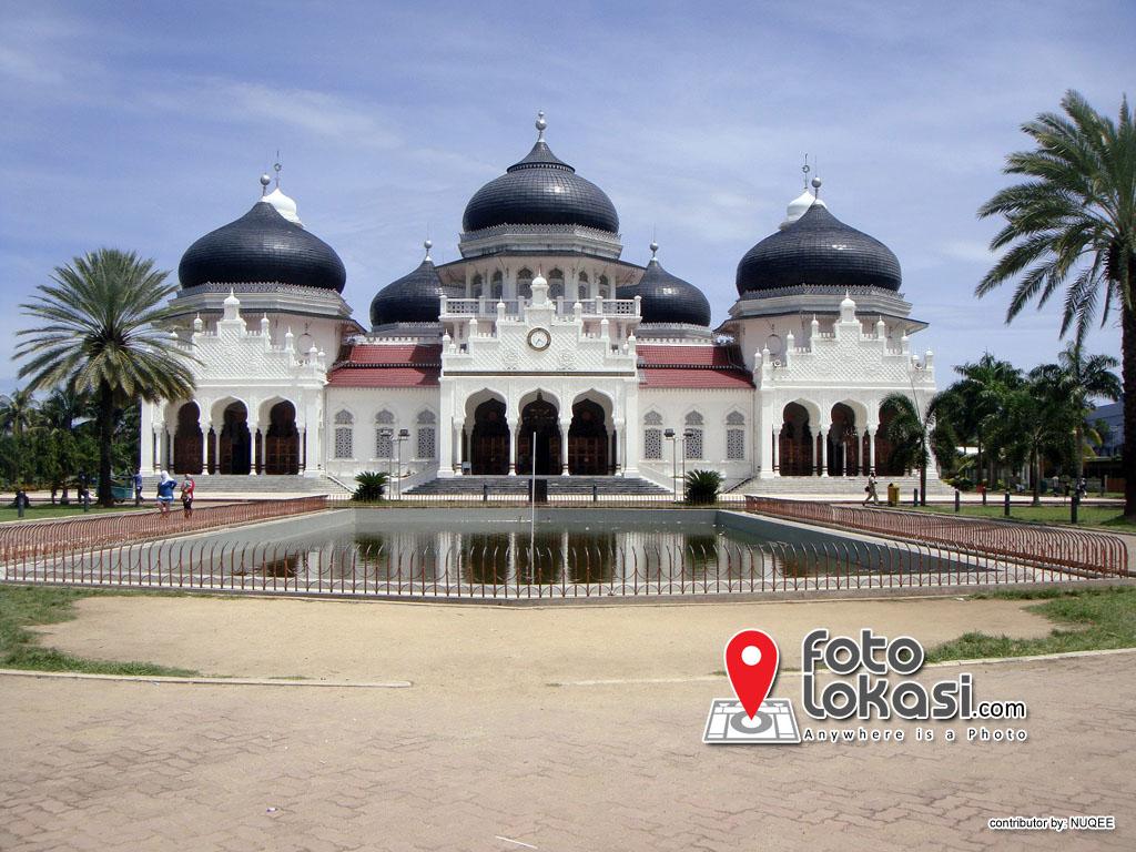 Masjid Raya Baiturrahman Foto Lokasi