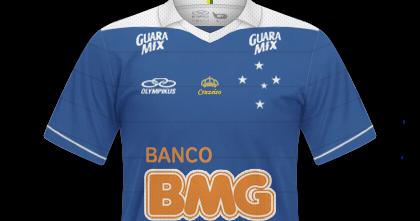 GT Camisas  Camisas Cruzeiro 2013   2014 - Home e Away 40038becbc51c