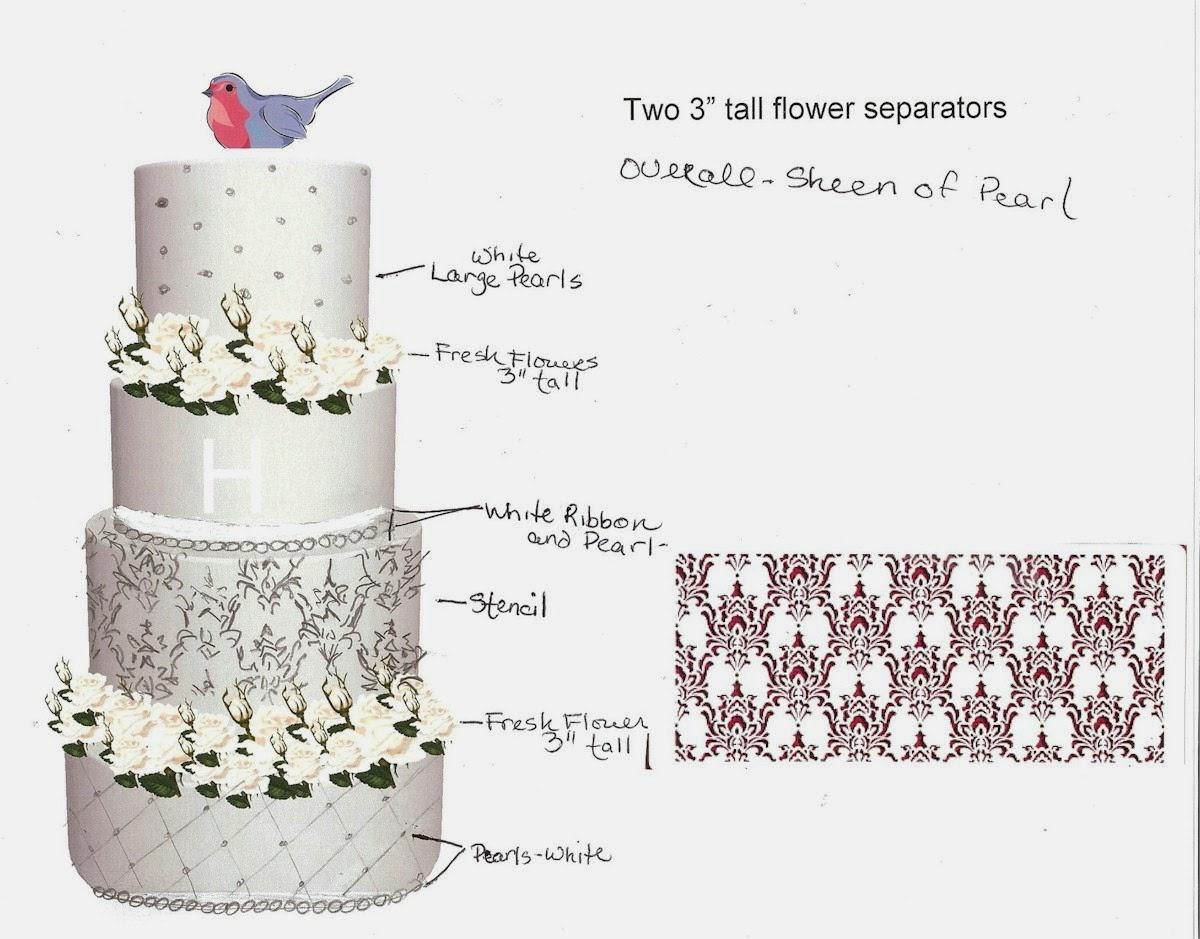 Sketchy Cake Designs