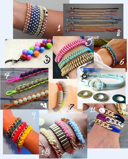 Tanti braccialetti e tanti tutorial tutti da provare per questa estate!