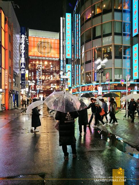 Tokyo Japan Shibuya Evening