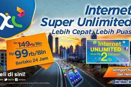 8 Paket Internet XL Unlimited 3G/4G Termurah