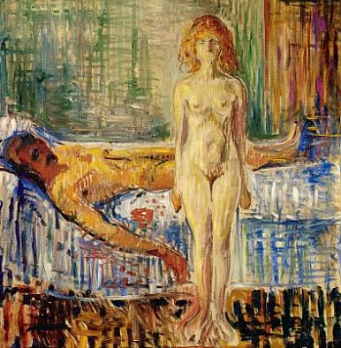 A Morte de Marat ll - Munch, Edvard esuas principais pinturas ~ Um grito de desespero existencial