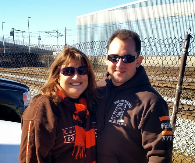 cleveland browns, tailgating, The Pit, fall, football