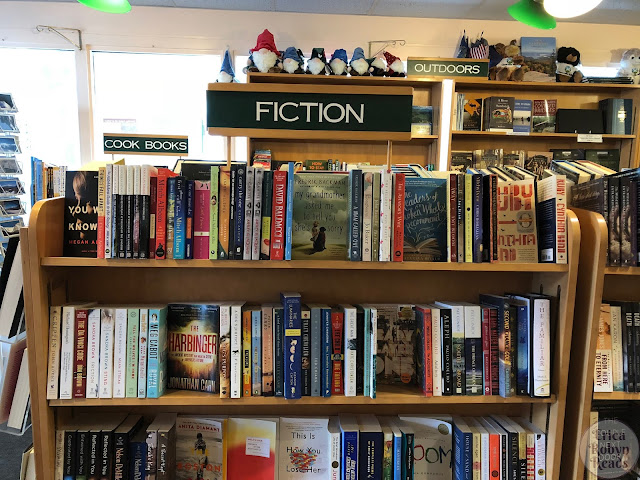 Fiction section of The BookMonger