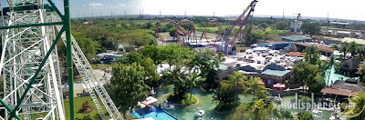 Enchanted Kingdom Top View Panorama