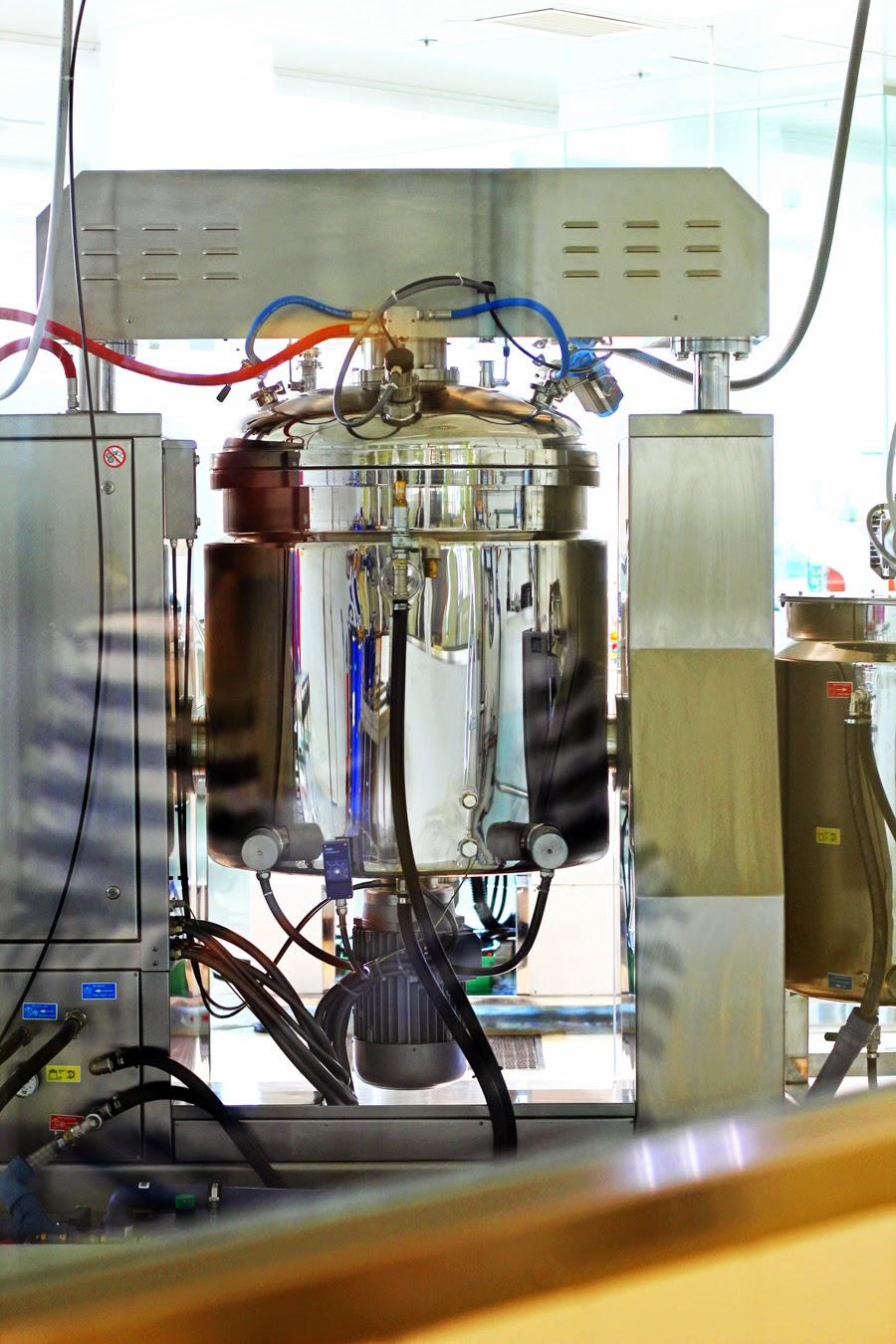 produktion behälter labor kosemtik ringana