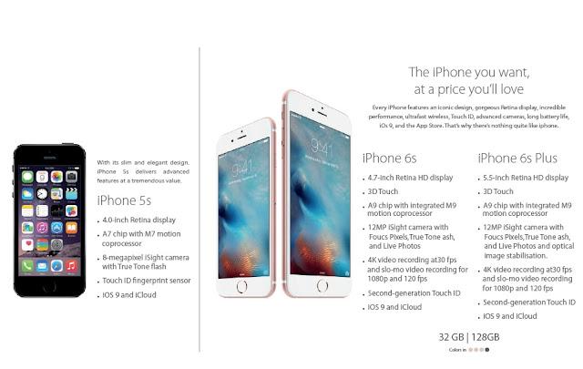 أسعار جوالات ابل Apple iPhone فى عروض مكتبة جرير 2017