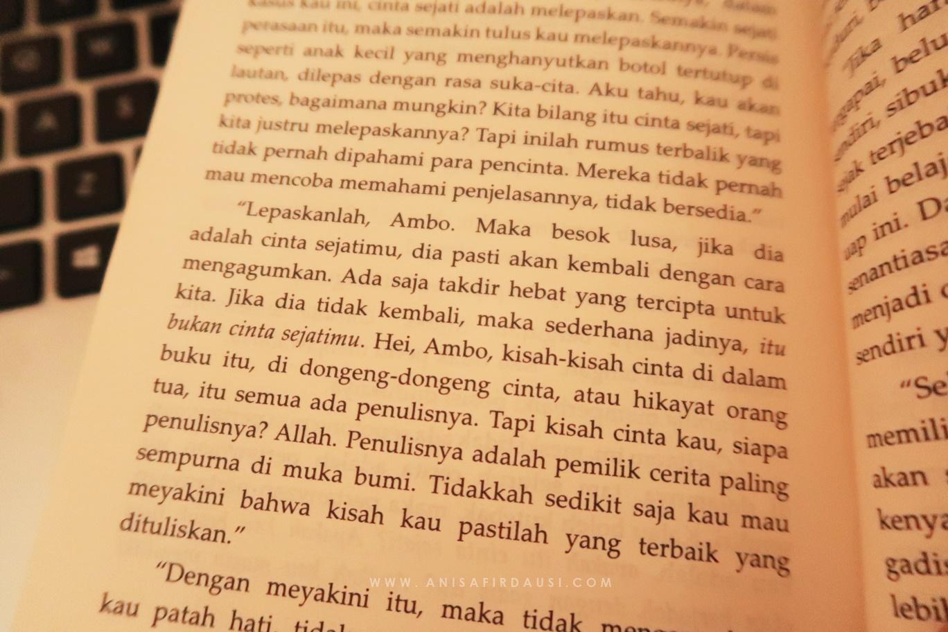 Memahami Perjalanan Hidup Dari Novel Rindu Tere Liye The