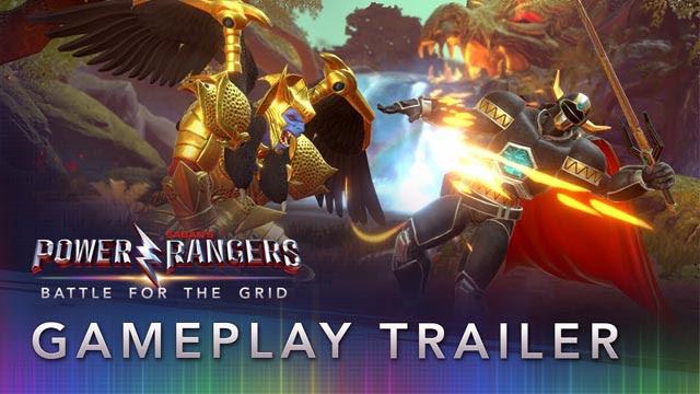Trailer Terbaru Dari Gameplay Power Rangers: Battle for the Grid
