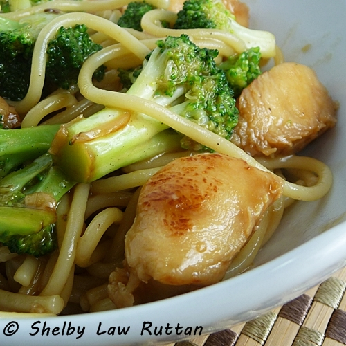 Chicken With Broccoli And Noodle Stir Fry Grumpys Honeybunch