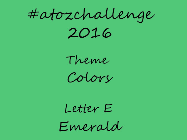 #atozchallenge 2016//E is for Emerald & F is for Fallow