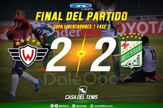 Wilstermann 2 - Oriente Petrolero 2 - Copa Libertadores - DaleOoo - Casa del Tenis - Lhed Indumentari