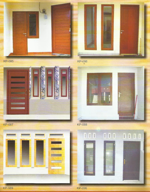 pusat harga Produsen kusen pintu jendela dari Kayu-Mahoni-akasia murah
