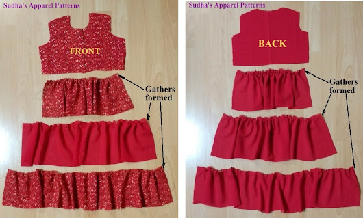 DIY Tiered dress tutorial - FREE Pattern