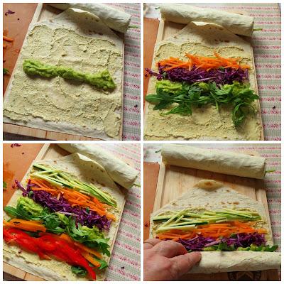 Rainbow Wraps