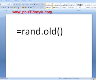 Rahasia Yang Tersembunyi Pada Microsoft Word
