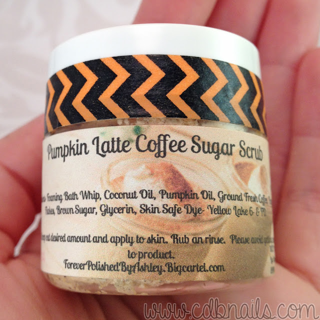Forever Polished-Pumpkin Latte Coffee Sugar Scrub