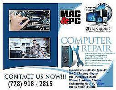 Laptop Repair Macbook Windos10 HP DELL Microsoft Apple Repair iMac