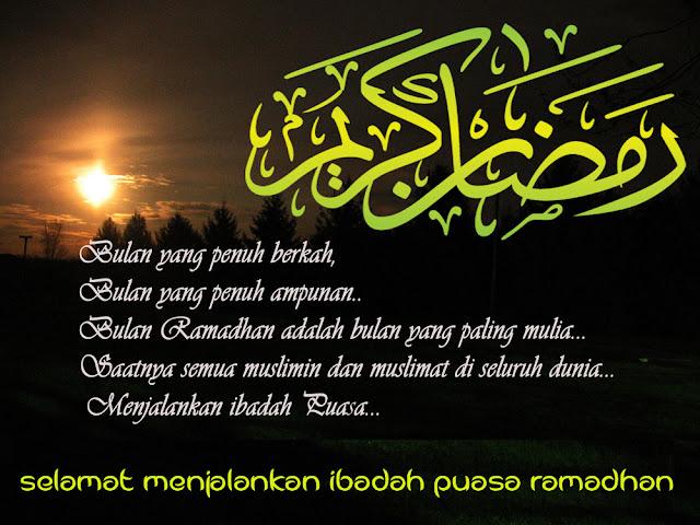 Bulan ramadan telah tiba panggilan untuk muslim muslimat yang bertakwa untuk menjalankan  12 Kata Ucapan Selamat Berpuasa bulan ampunan Terbaru Terindah 2017